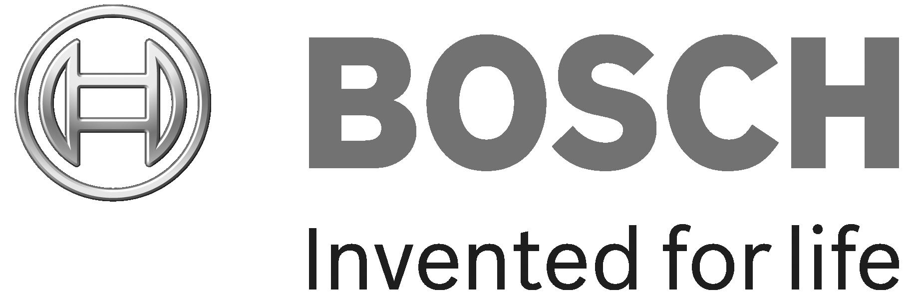 Logo Robert Bosch grau