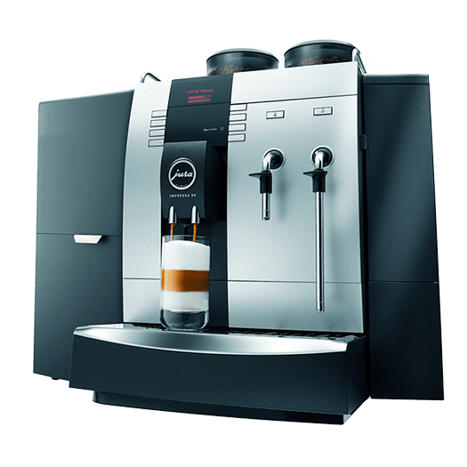 jura x9 with universal fridge